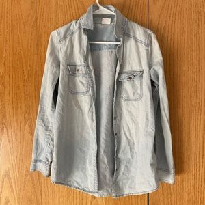 BP Chambray Long Sleeve Button Up